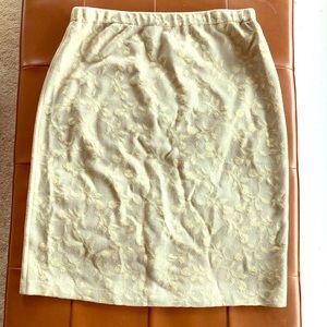 St. John Evening knit skirt